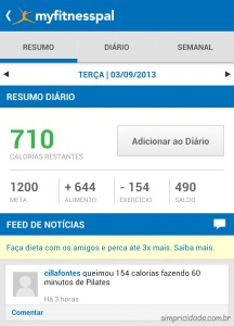 2013 09 03 My fitness pal